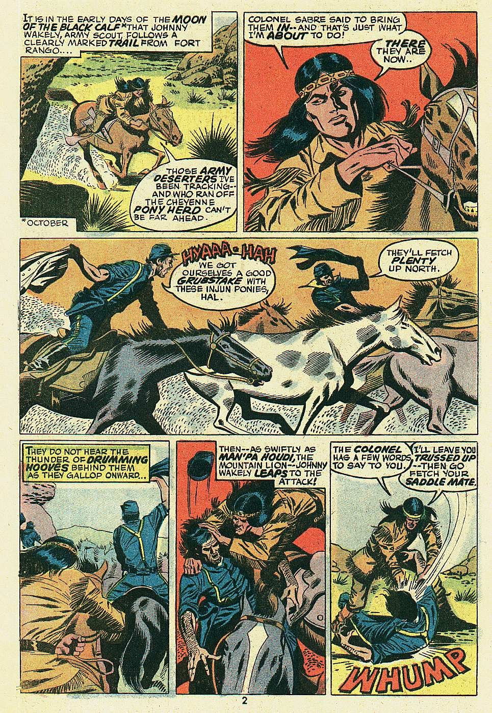 Red Wolf (1972) issue 6 - Page 3
