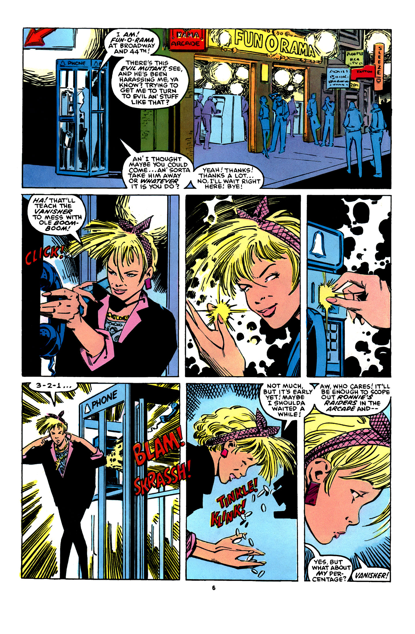 Read online X-Factor (1986) comic -  Issue #12 - 7
