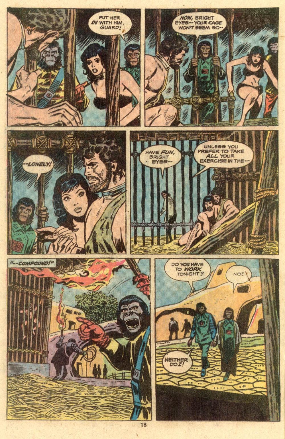 Read online Adventures on the Planet of the Apes comic -  Issue #2 - 14