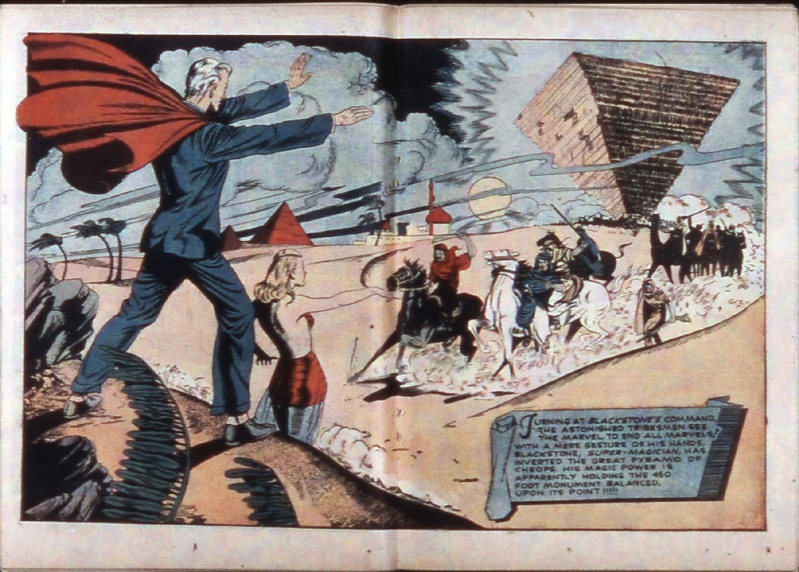 Read online Super-Magician Comics comic -  Issue #3 - 34