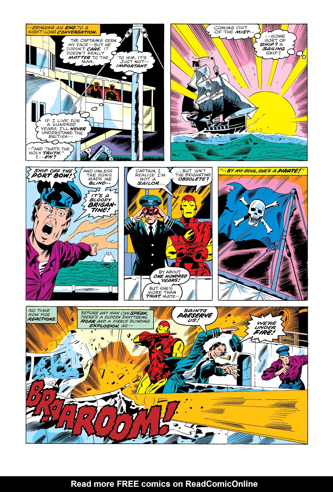 Read online Marvel Masterworks: The Invincible Iron Man comic -  Issue # TPB 11 (Part 3) - 55