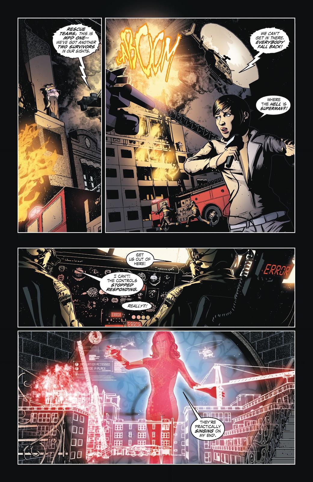 Read online Smallville Season 11 [II] comic -  Issue # TPB 6 - 23