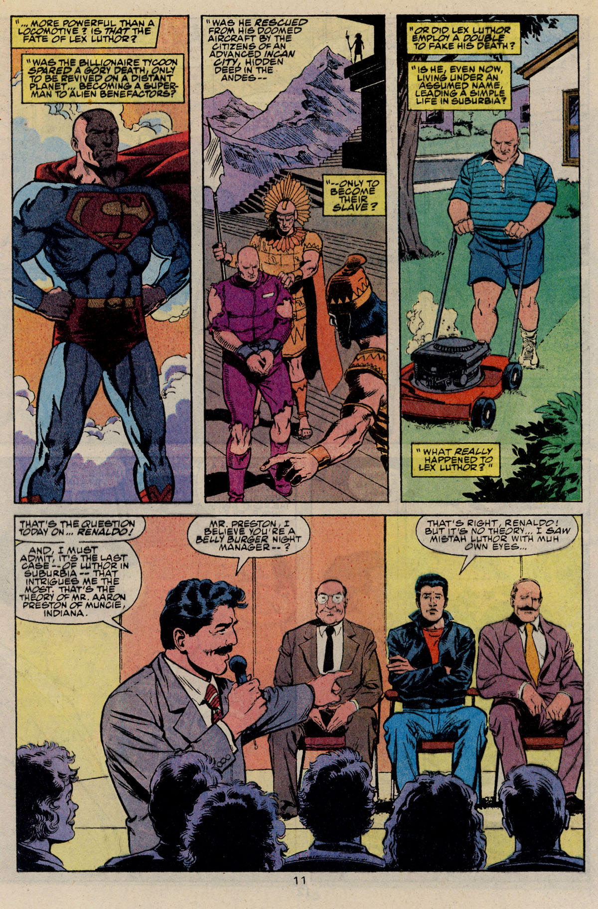 Read online Action Comics (1938) comic -  Issue #668 - 17