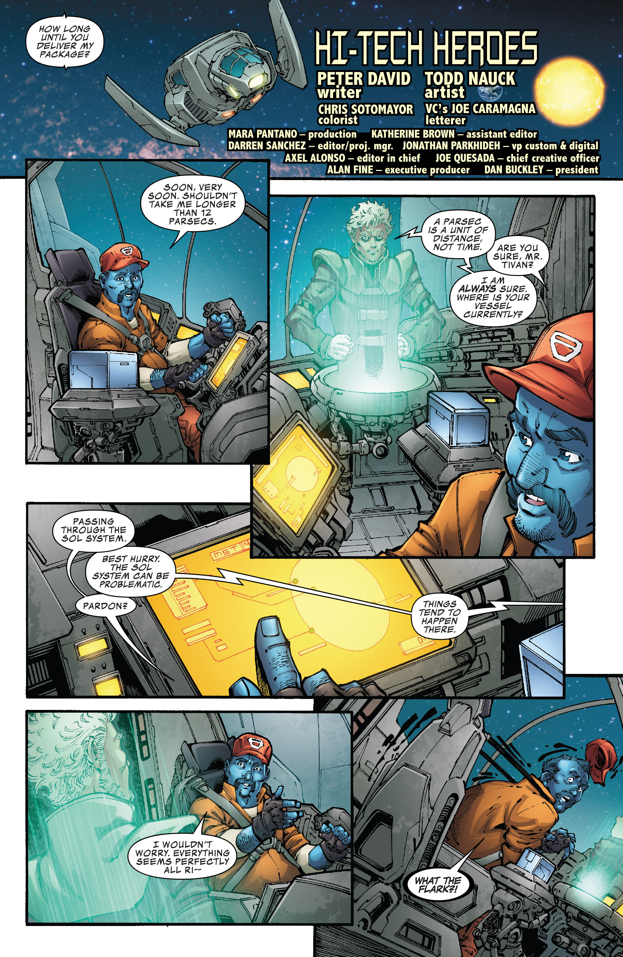 Read online Hi-Tech Heroes Presented By Hanes comic -  Issue # Full - 3