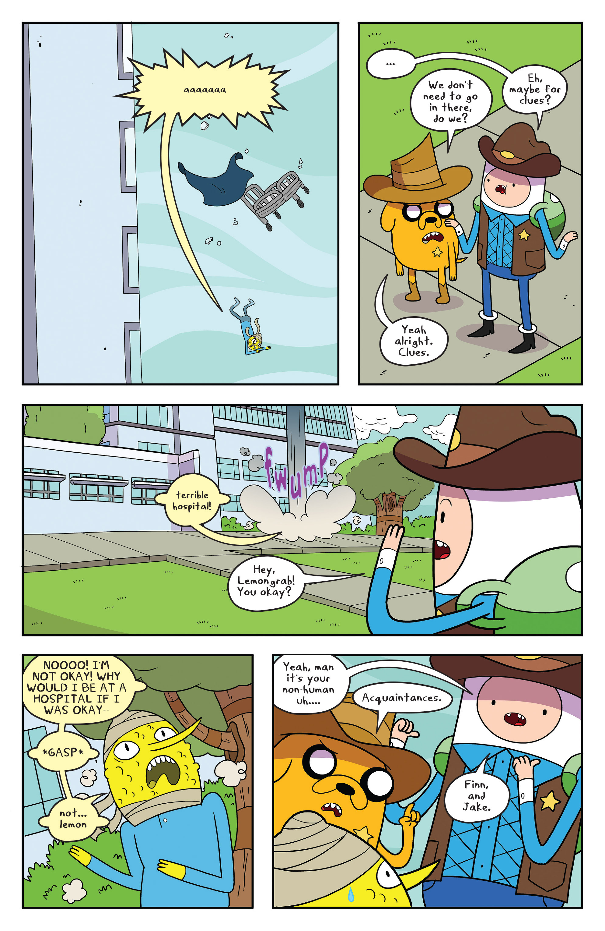 Read online Adventure Time comic -  Issue #55 - 9