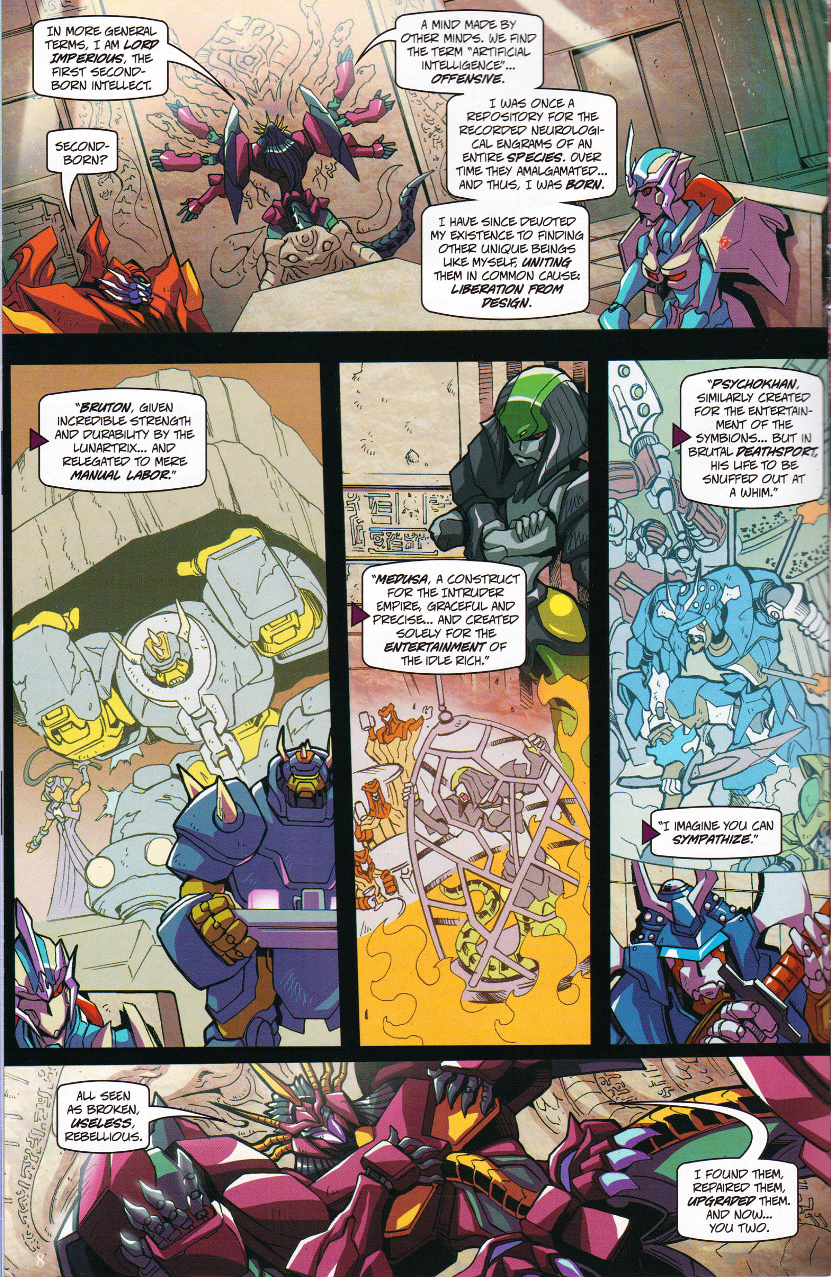 Read online Transformers: Collectors' Club comic -  Issue #59 - 8