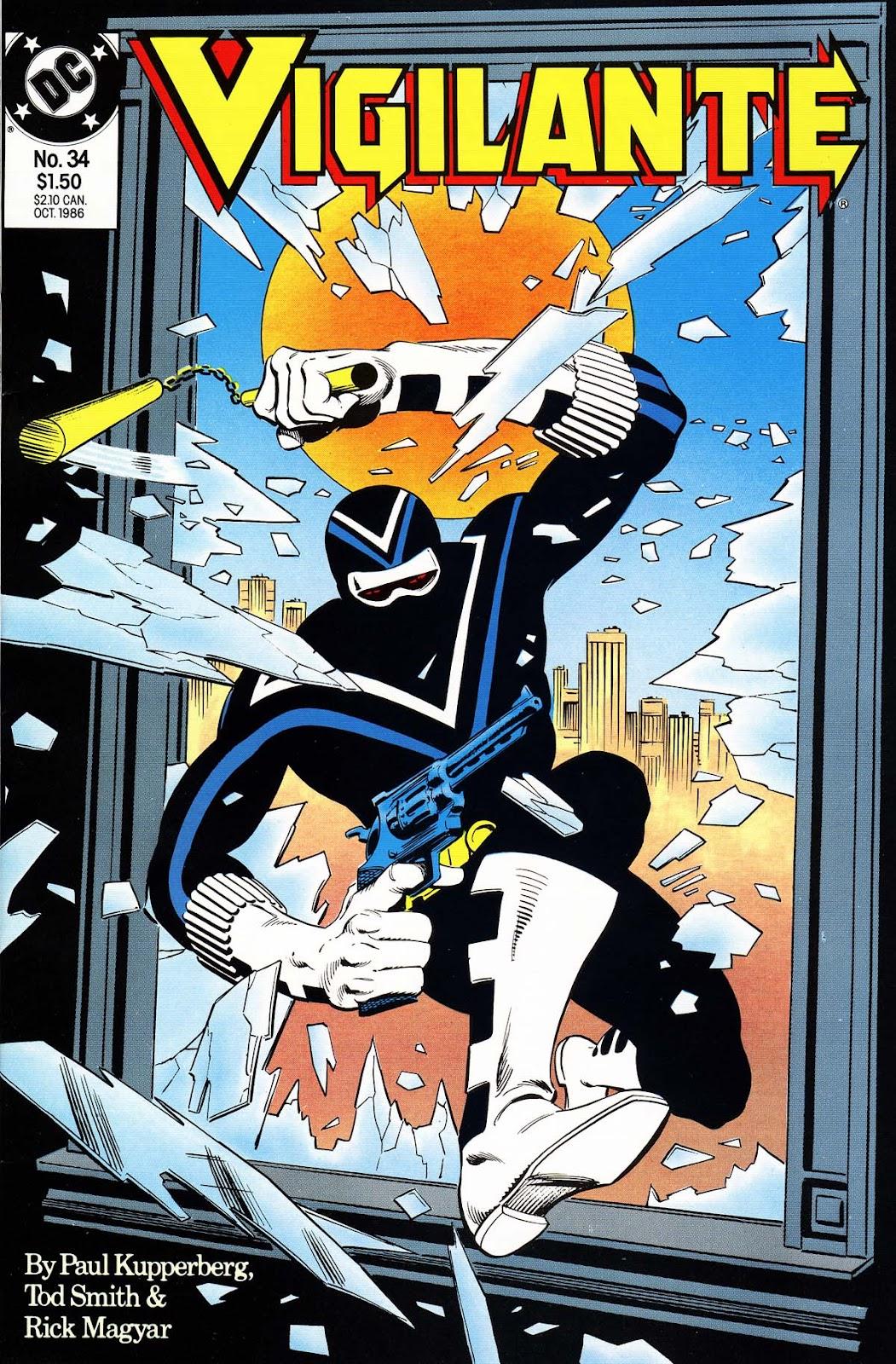 Vigilante (1983) issue 34 - Page 1
