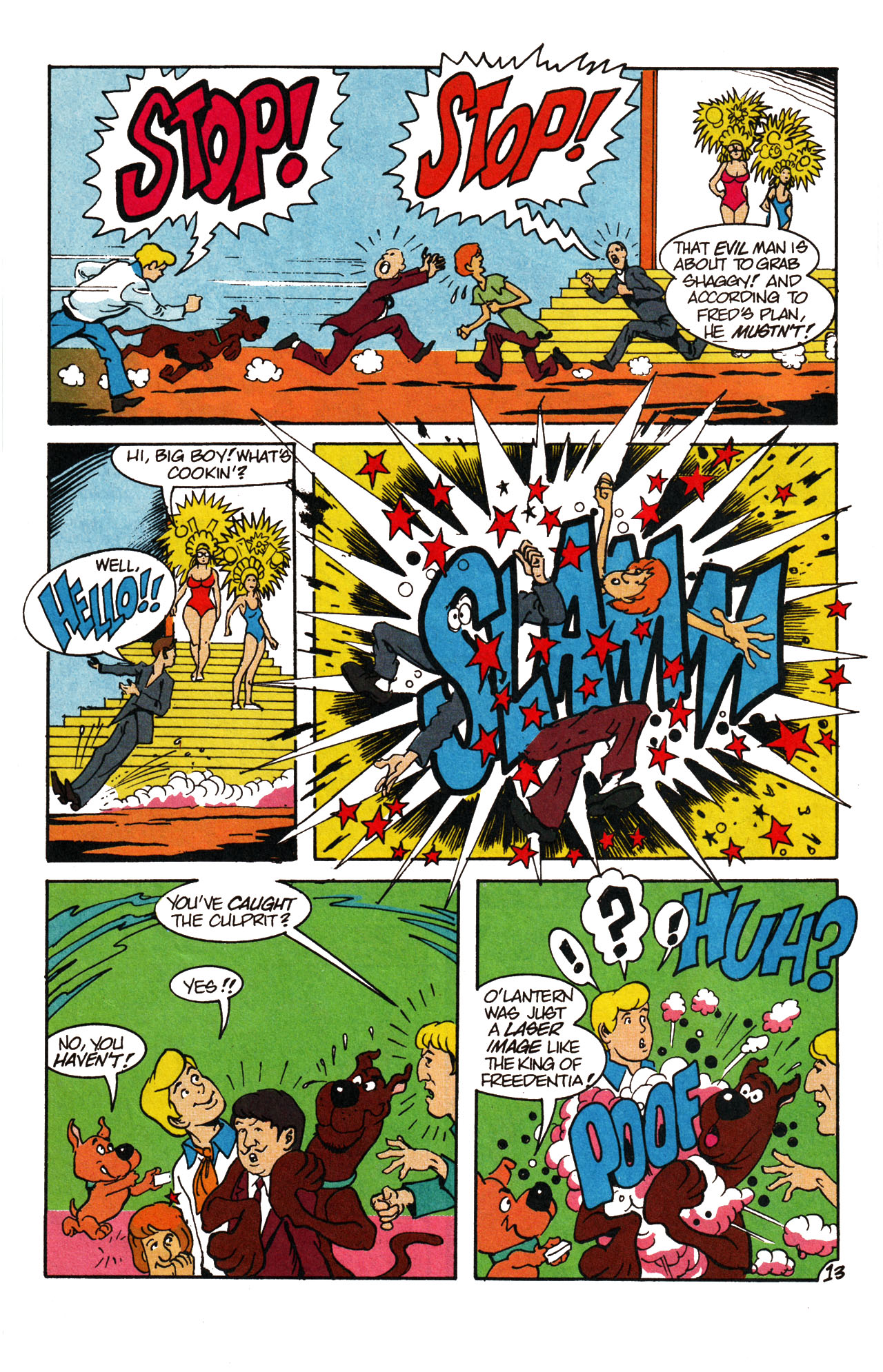 Read online Scooby-Doo (1995) comic -  Issue #13 - 19
