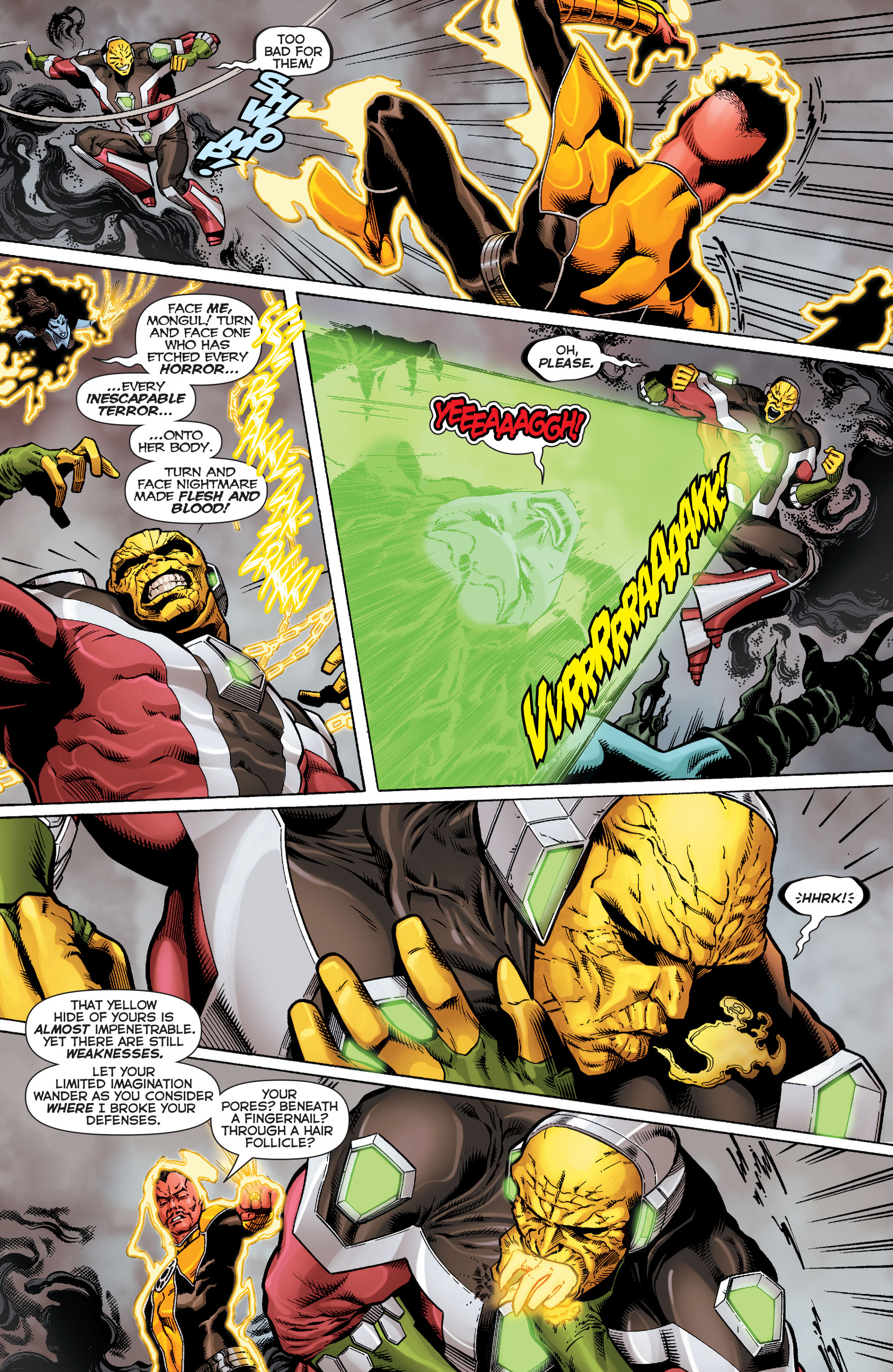 Read online Sinestro comic -  Issue #9 - 17