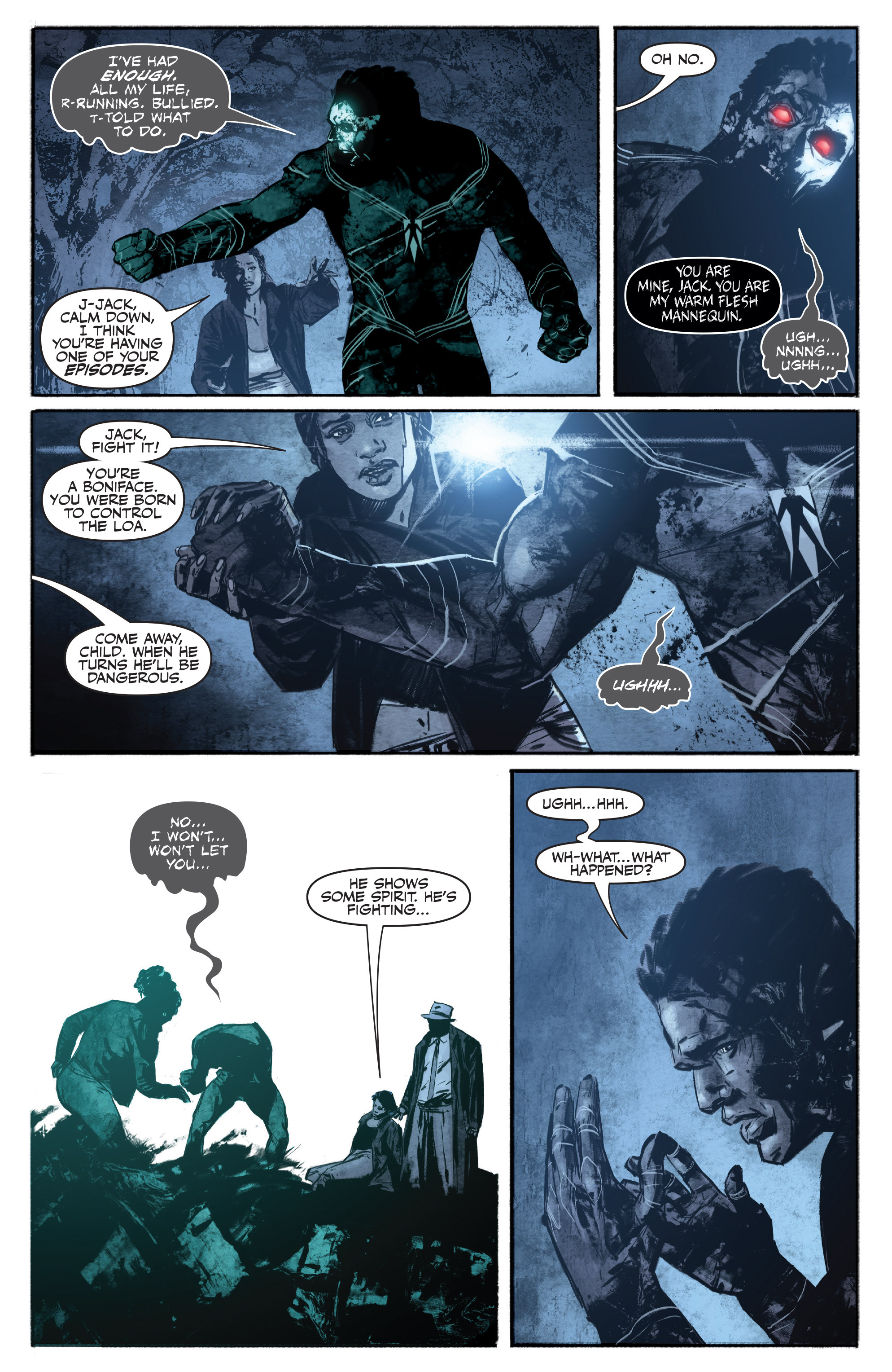 Read online Shadowman (2012) comic -  Issue #16 - 7