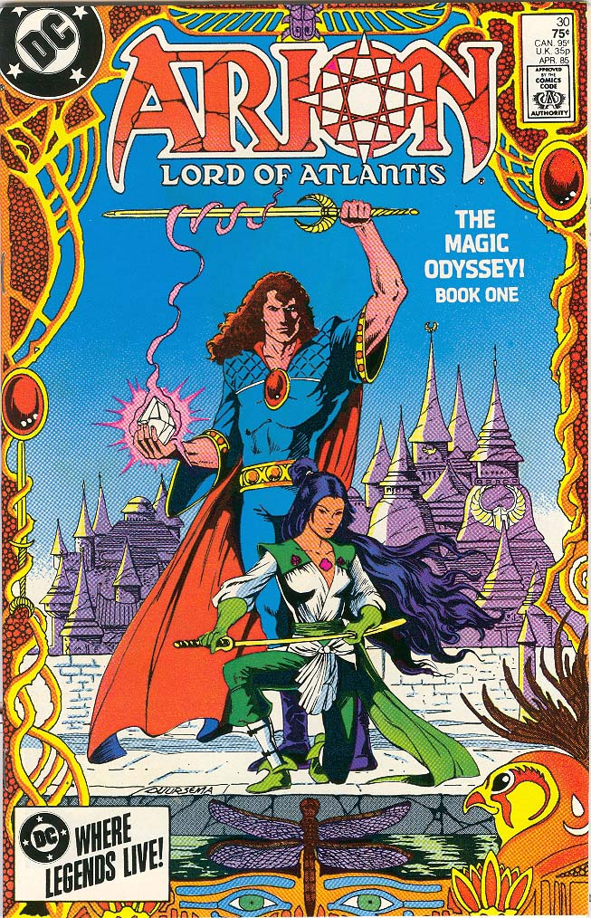 Read online Arion, Lord of Atlantis comic -  Issue #30 - 1