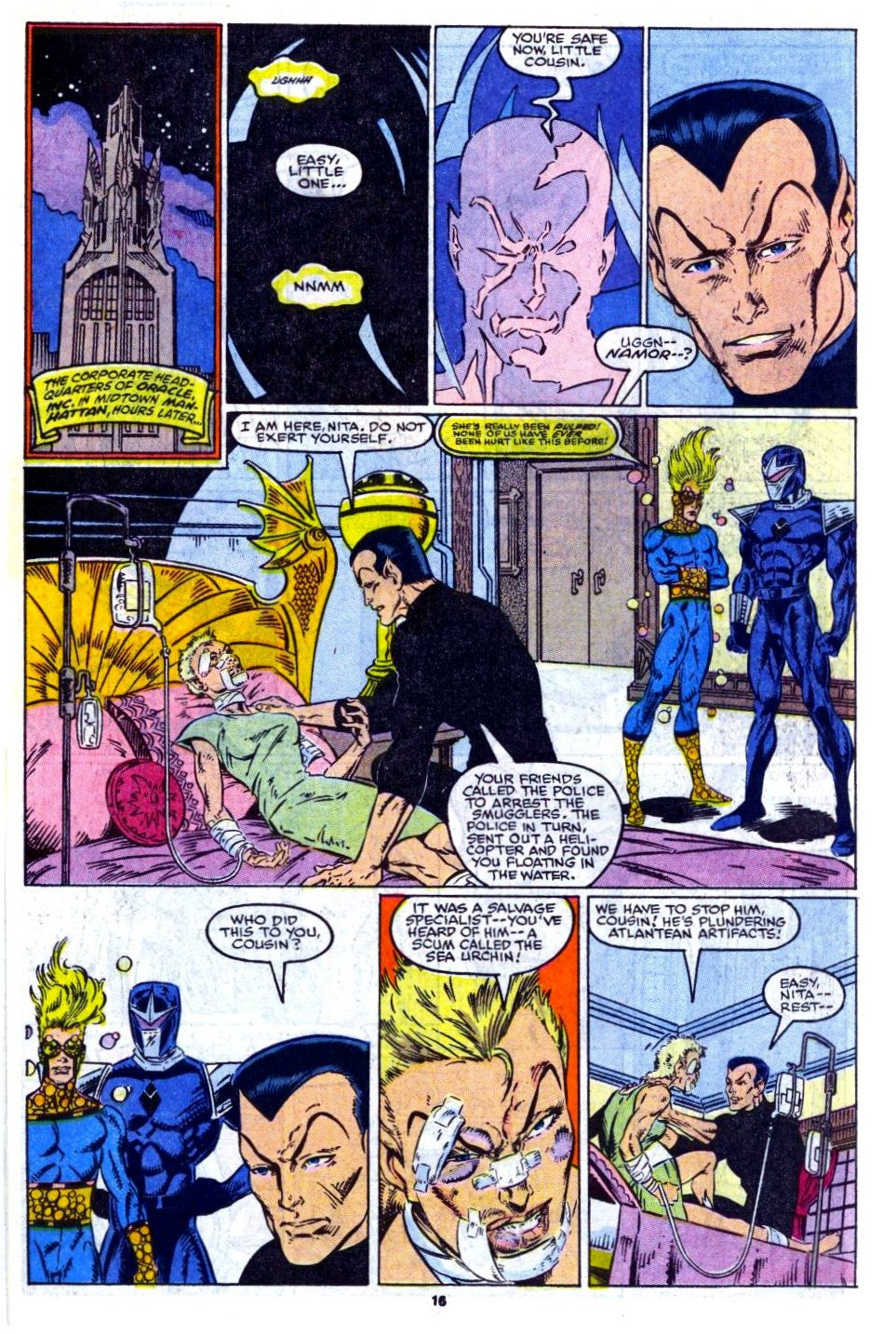 The New Warriors Issue #14 #18 - English 15