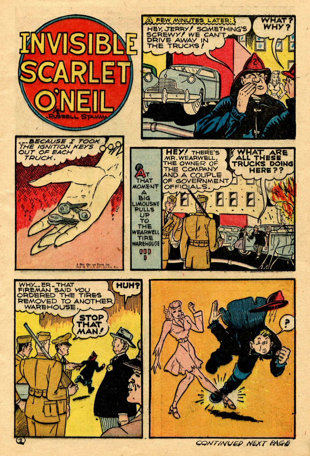 Read online Famous Funnies comic -  Issue #116 - 11