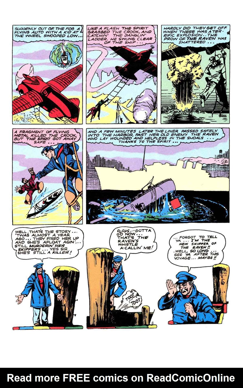 Read online Will Eisner's The Spirit Archives comic -  Issue # TPB 2 (Part 2) - 28