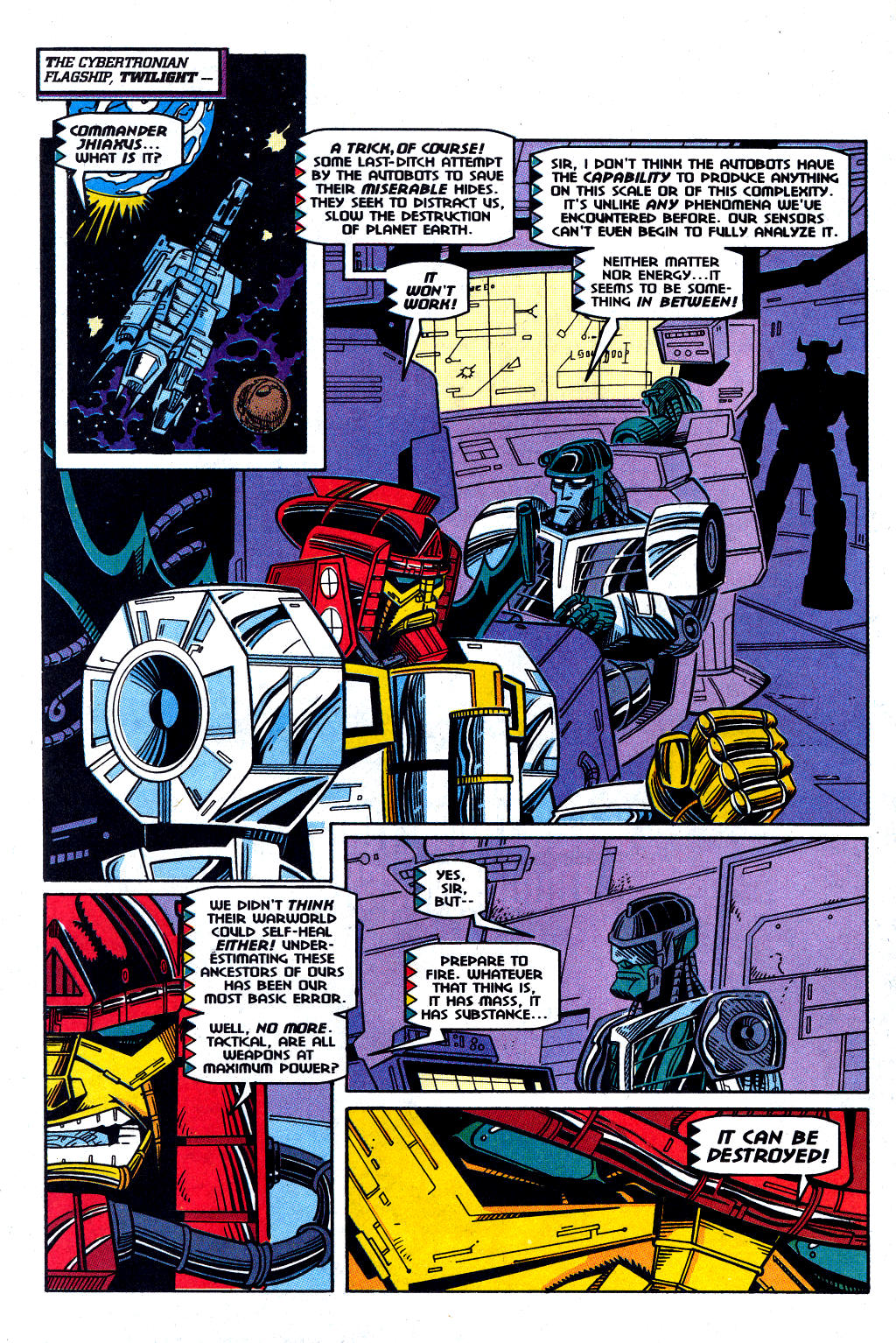 Read online Transformers: Generation 2 comic -  Issue #12 - 5