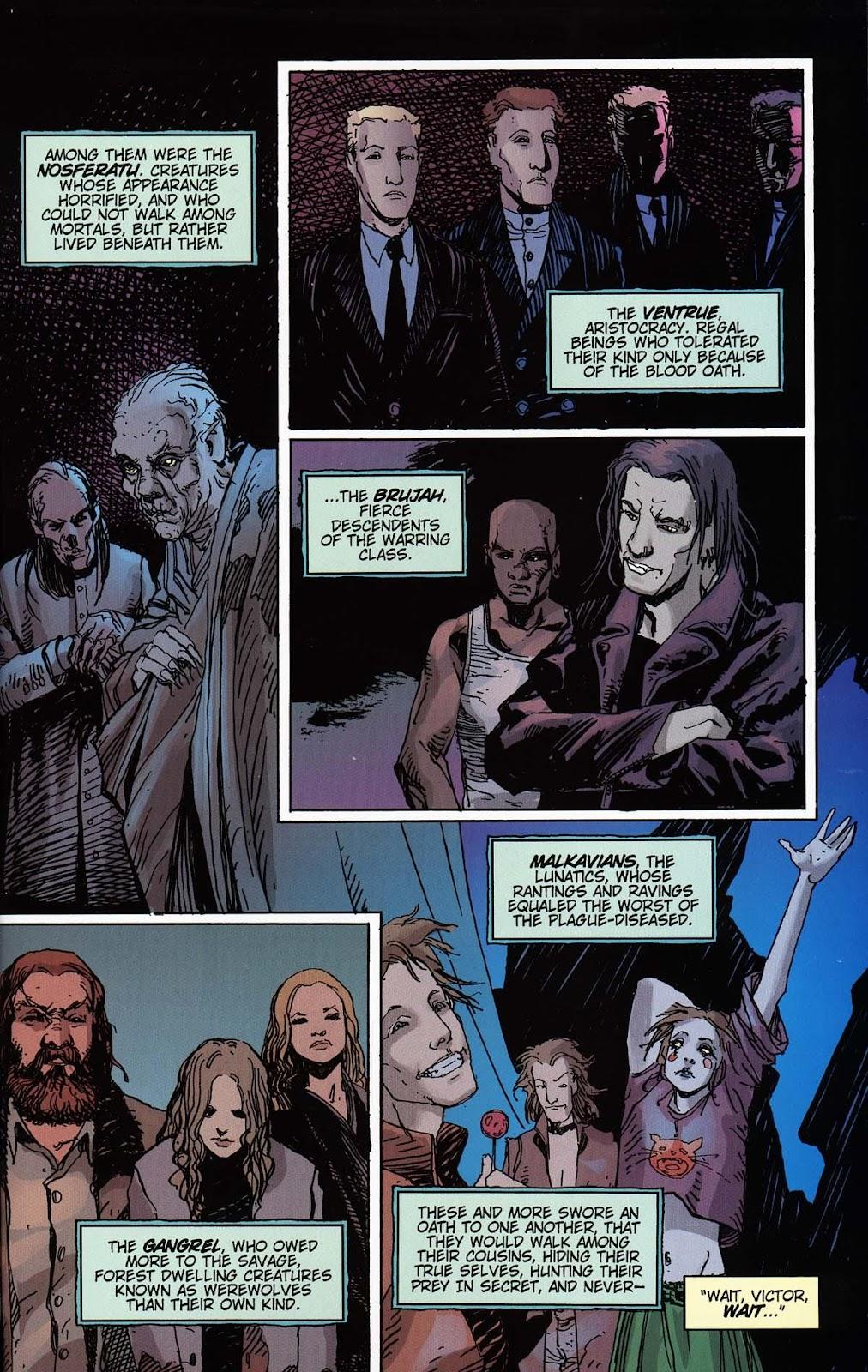Read online Vampire the Masquerade comic -  Issue # Toreador - 43