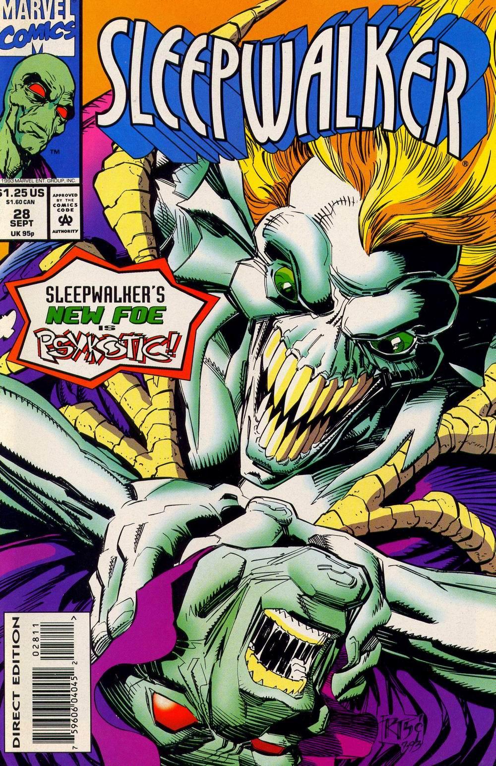 Read online Sleepwalker comic -  Issue #28 - 1