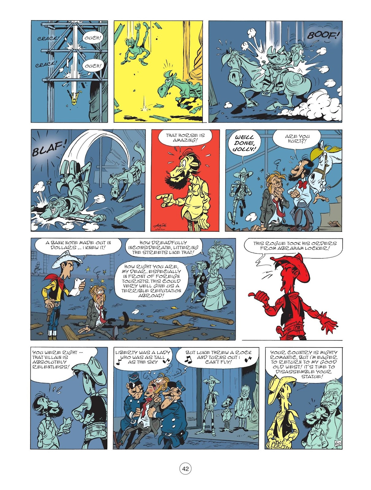 A Lucky Luke Adventure issue 71 - Page 44
