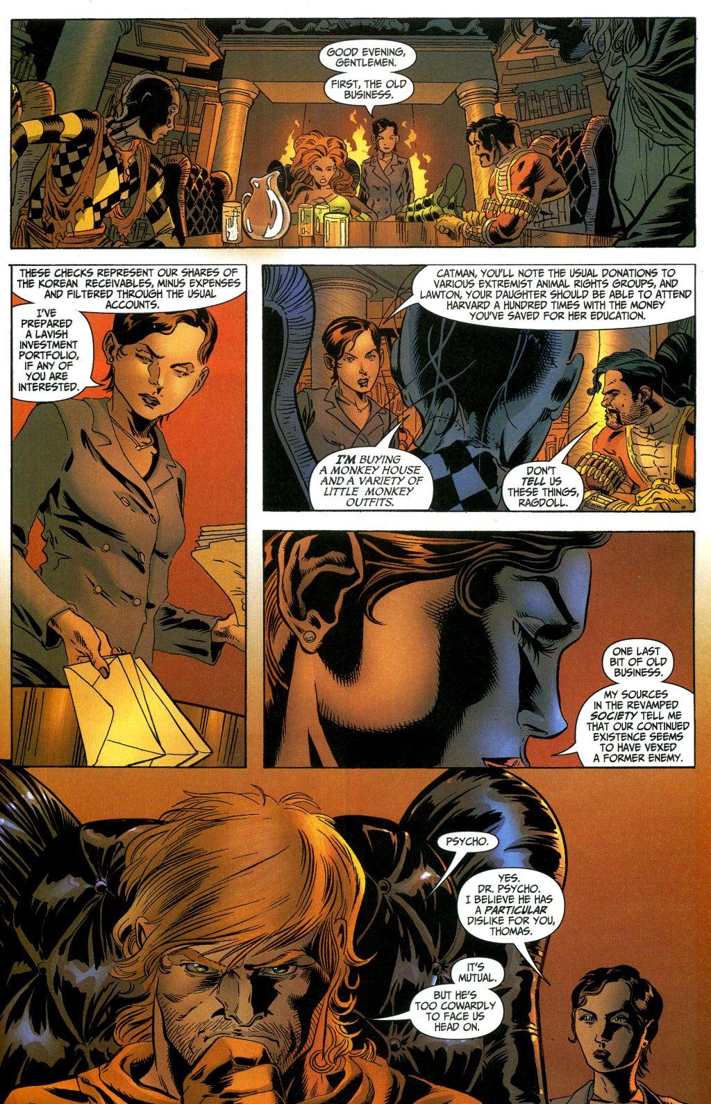 Read online Secret Six (2006) comic -  Issue #1 - 15
