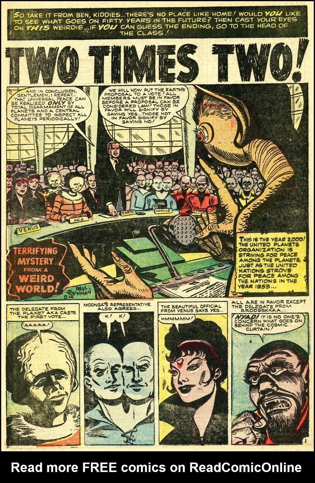 Read online Adventures into Weird Worlds comic -  Issue #25 - 22