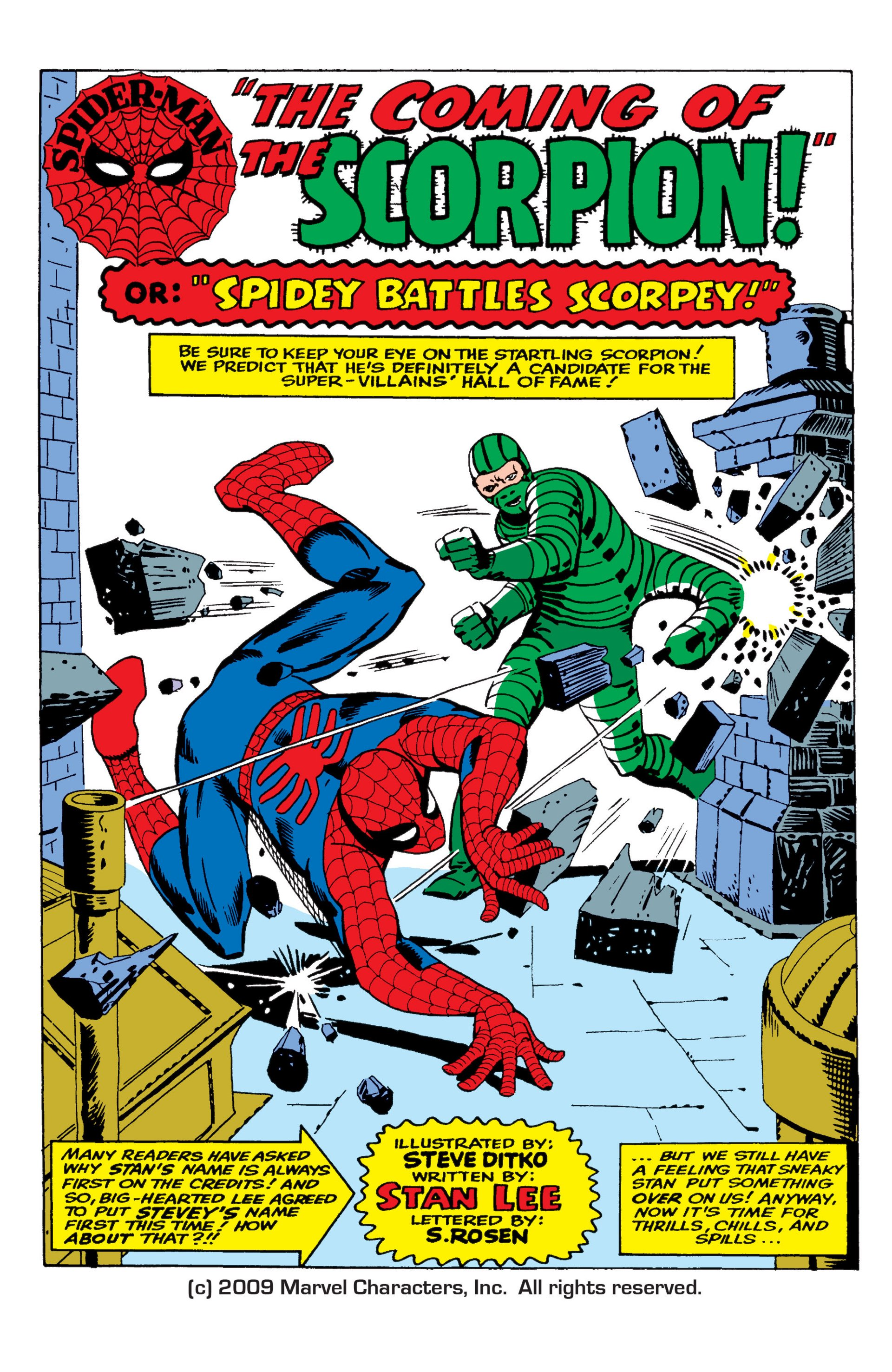 The Amazing Spider-Man (1963) 20 Page 1