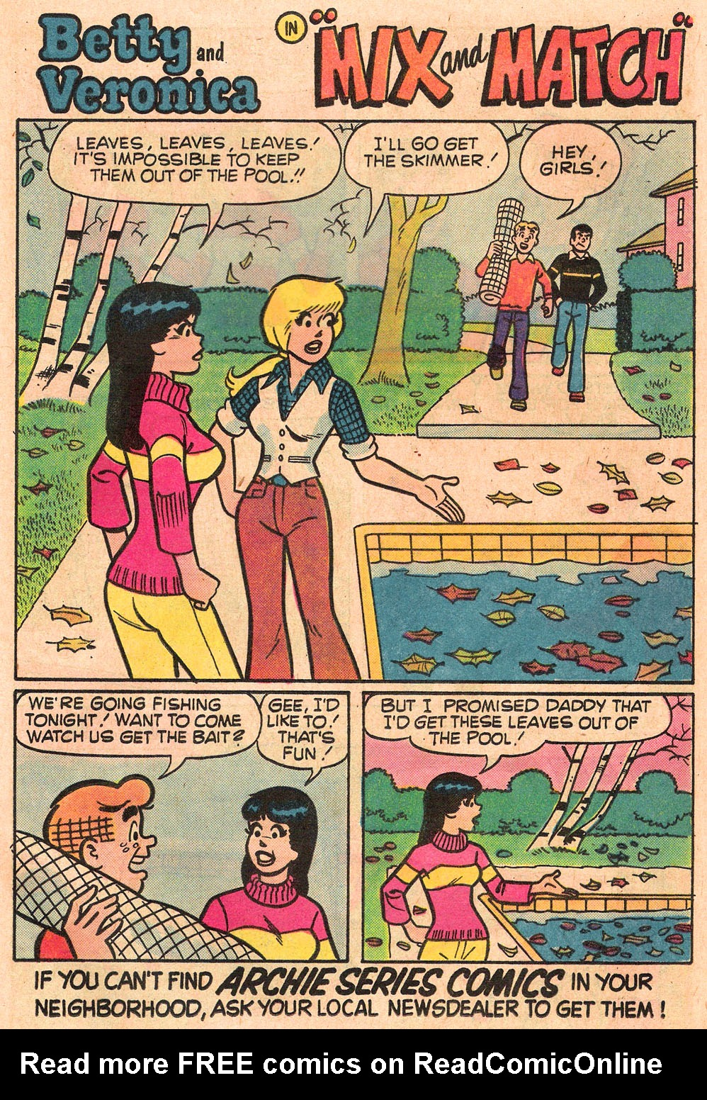 Read online Archie's Girls Betty and Veronica comic -  Issue #265 - 13