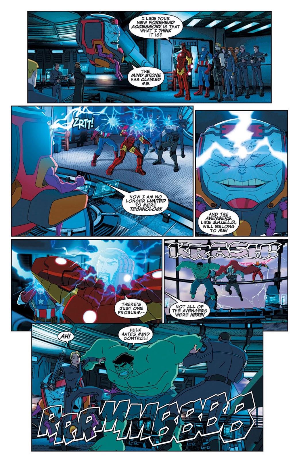 Read online Marvel Universe Avengers Assemble Season 2 comic -  Issue #8 - 10