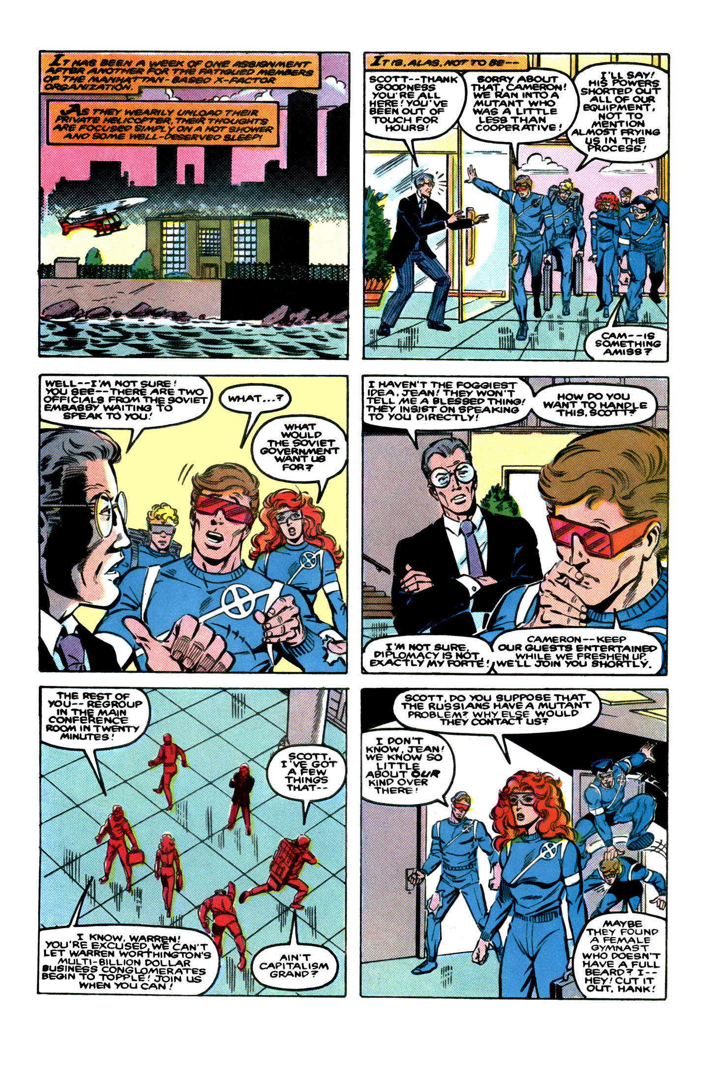 Read online X-Factor (1986) comic -  Issue # _ Annual 1 - 4