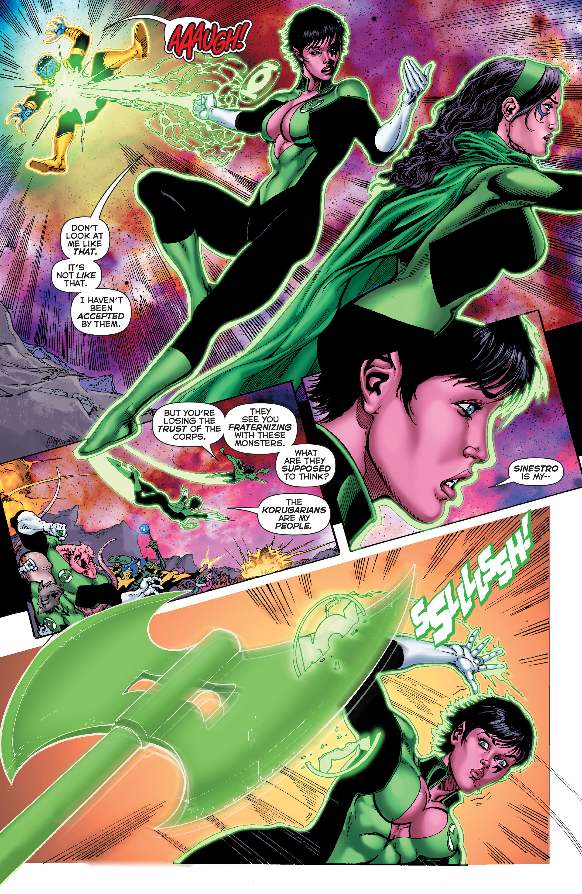 Read online Sinestro comic -  Issue #7 - 12