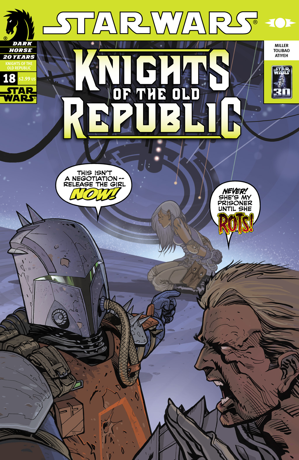 Star Wars: Knights Of The Old Republic issue 18 - Page 1
