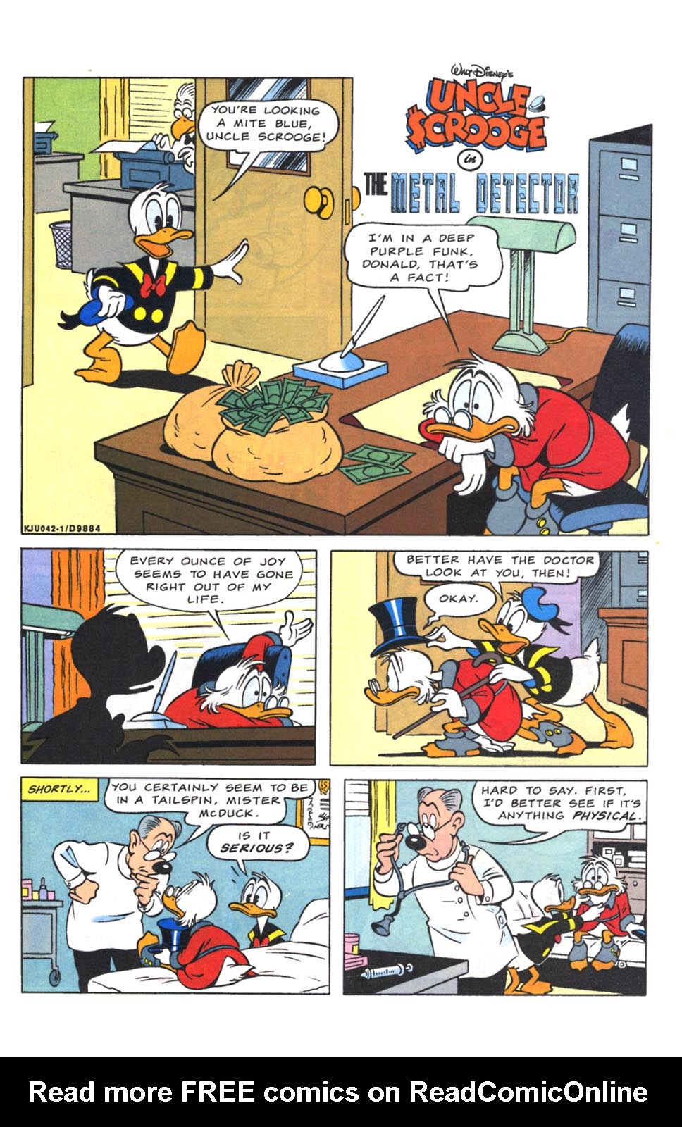 Read online Uncle Scrooge (1953) comic -  Issue #262 - 23