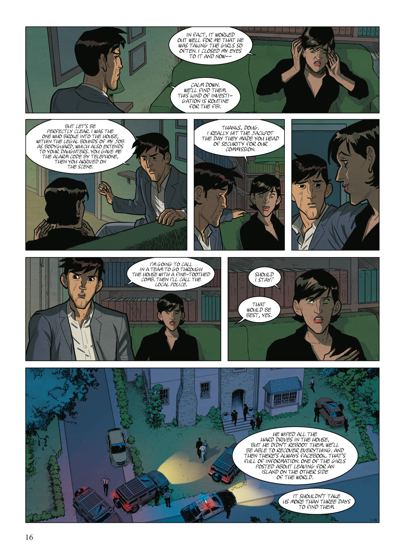 Read online Alter Ego comic -  Issue #9 - 18