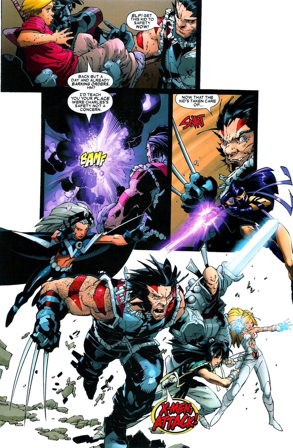 Read online Age of Apocalypse (2005) comic -  Issue #4 - 9
