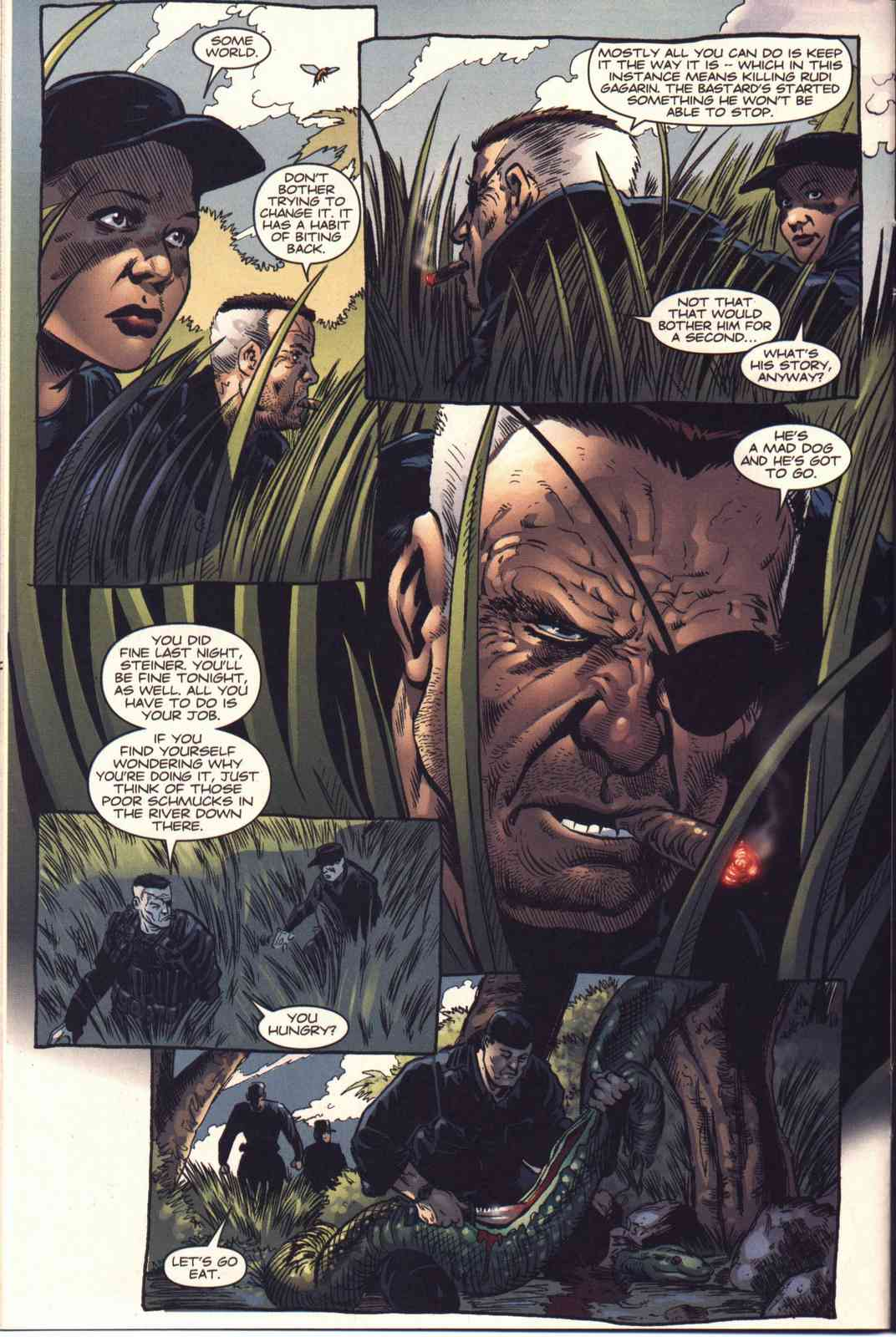 Read online Fury comic -  Issue #4 - 11