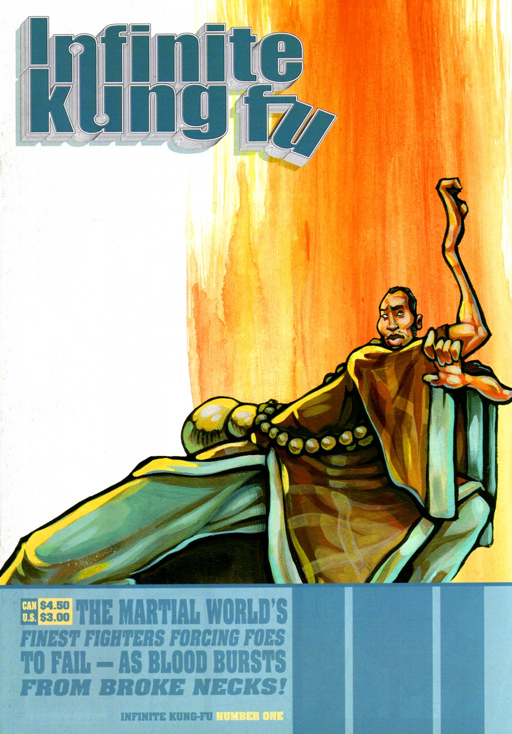 Infinite Kung Fu issue 1 - Page 1