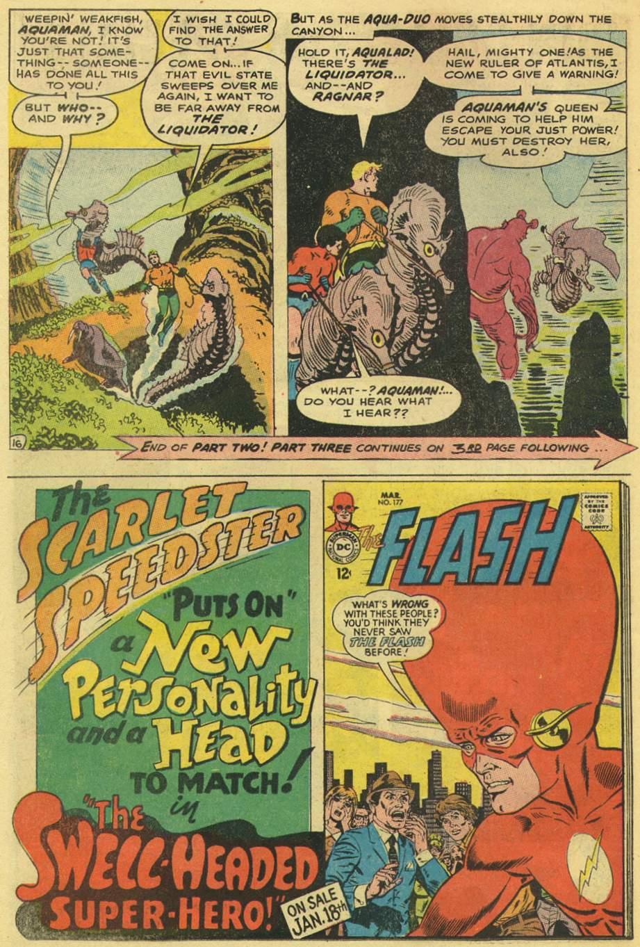 Read online Aquaman (1962) comic -  Issue #38 - 22