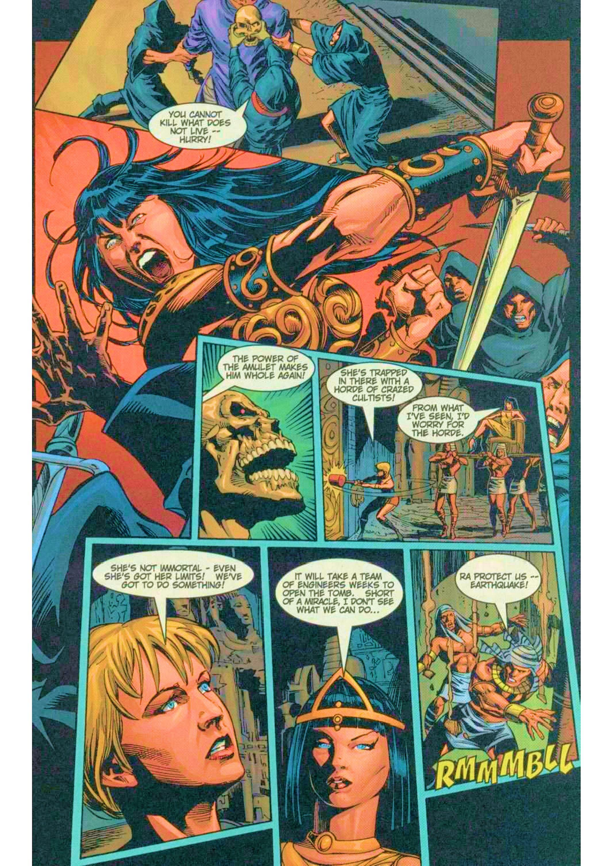 Read online Xena: Warrior Princess (1999) comic -  Issue #6 - 16