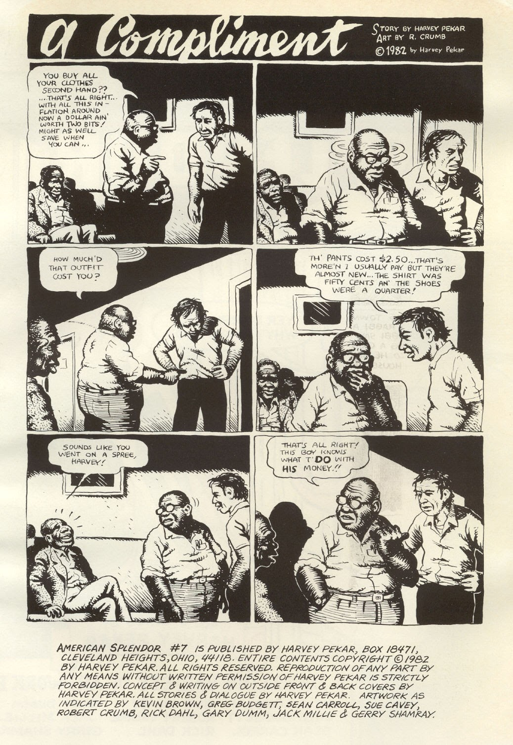 American Splendor (1976) issue 7 - Page 3