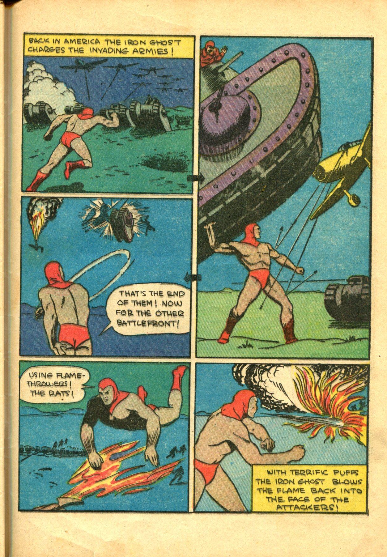 Read online Shadow Comics comic -  Issue #10 - 55