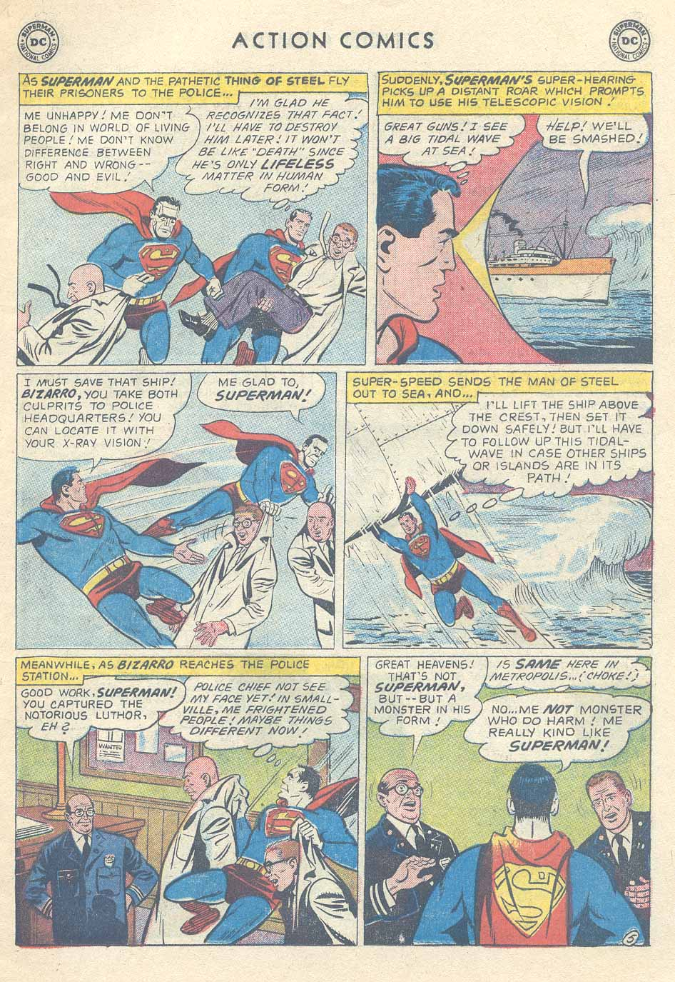 Action Comics (1938) 254 Page 6
