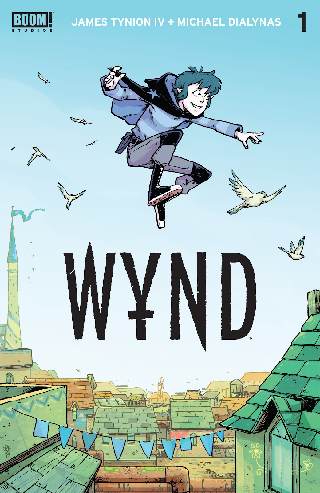 Read online Wynd comic -  Issue #1 - 1