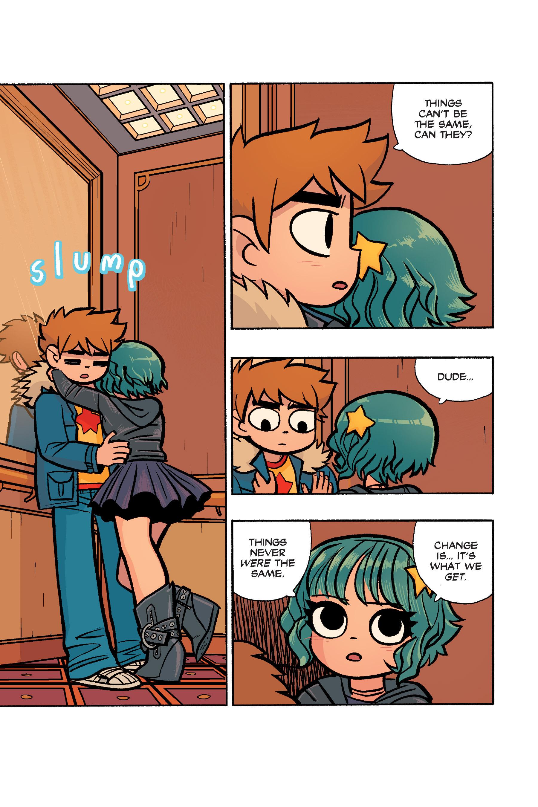 Read online Scott Pilgrim comic -  Issue #6 - 222