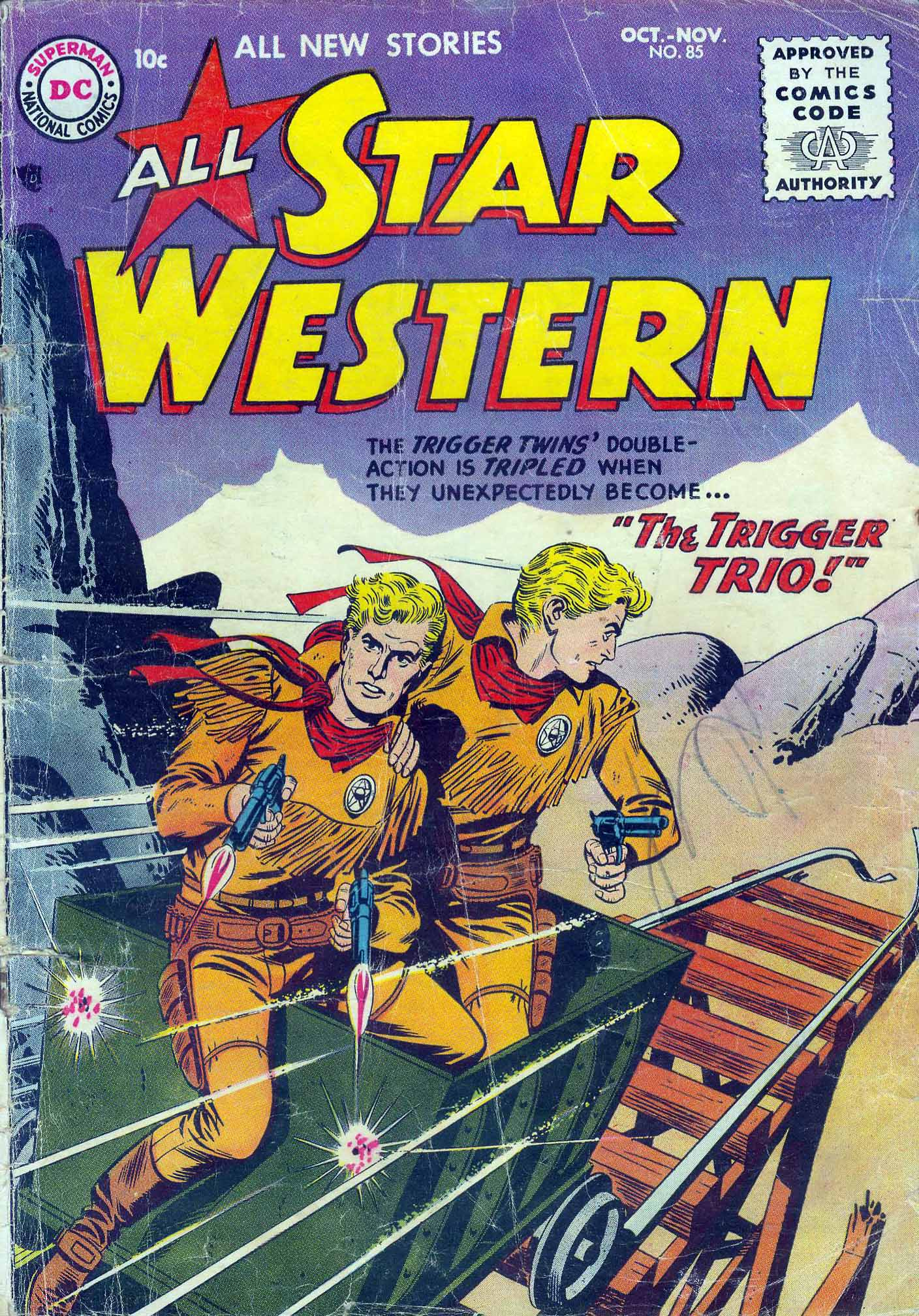 Read online All-Star Western (1951) comic -  Issue #85 - 1