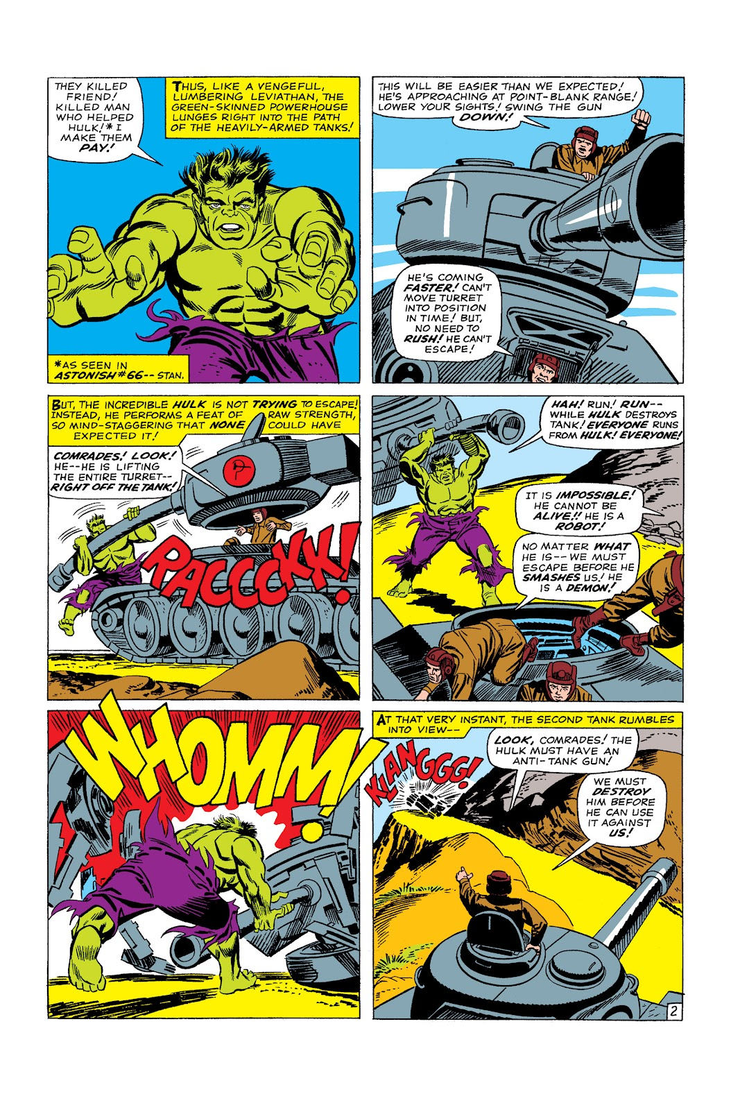 Read online Marvel Masterworks: The Incredible Hulk comic -  Issue # TPB 2 (Part 2) - 3