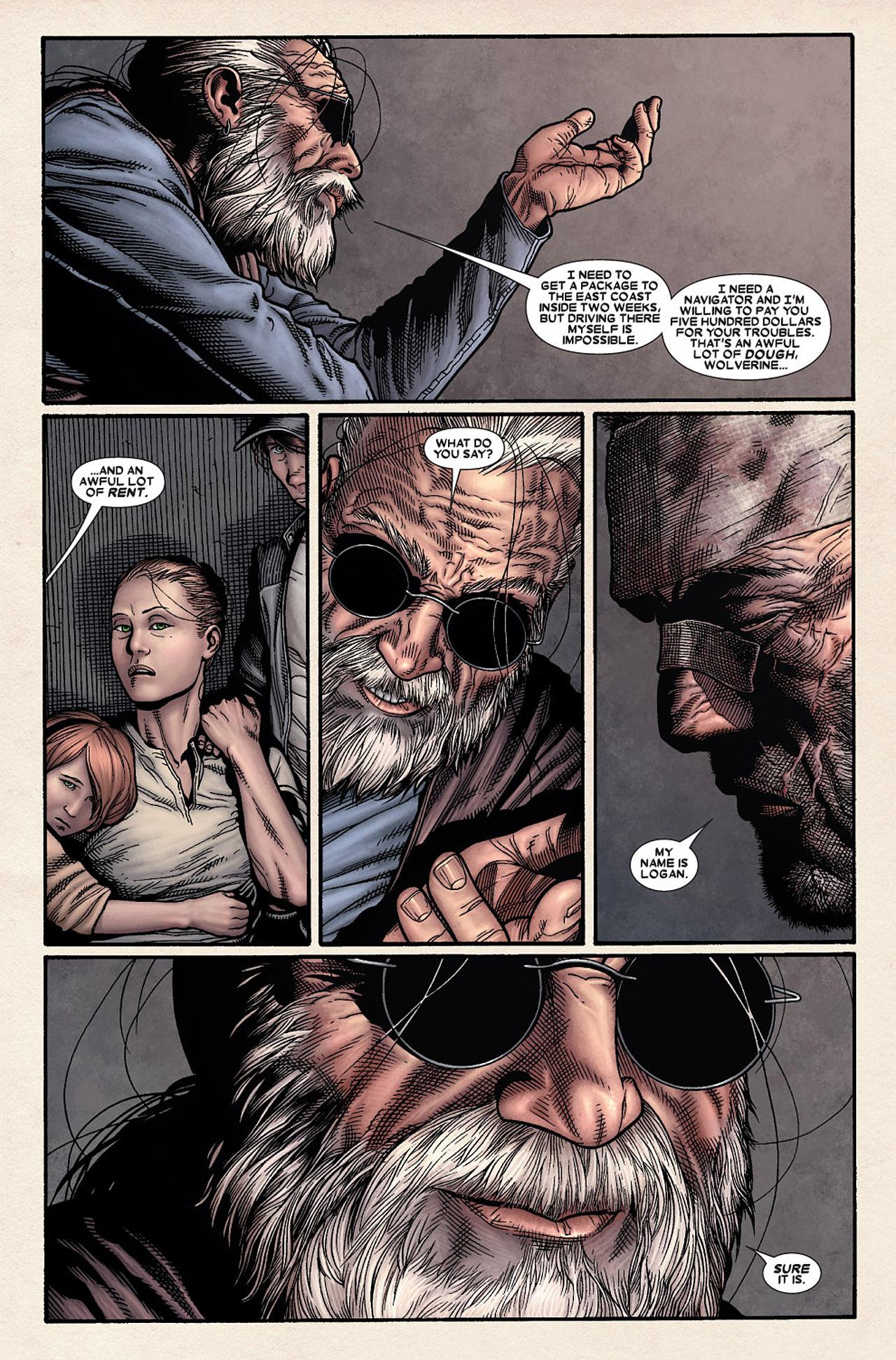 Read online Wolverine: Old Man Logan comic -  Issue # Full - 20