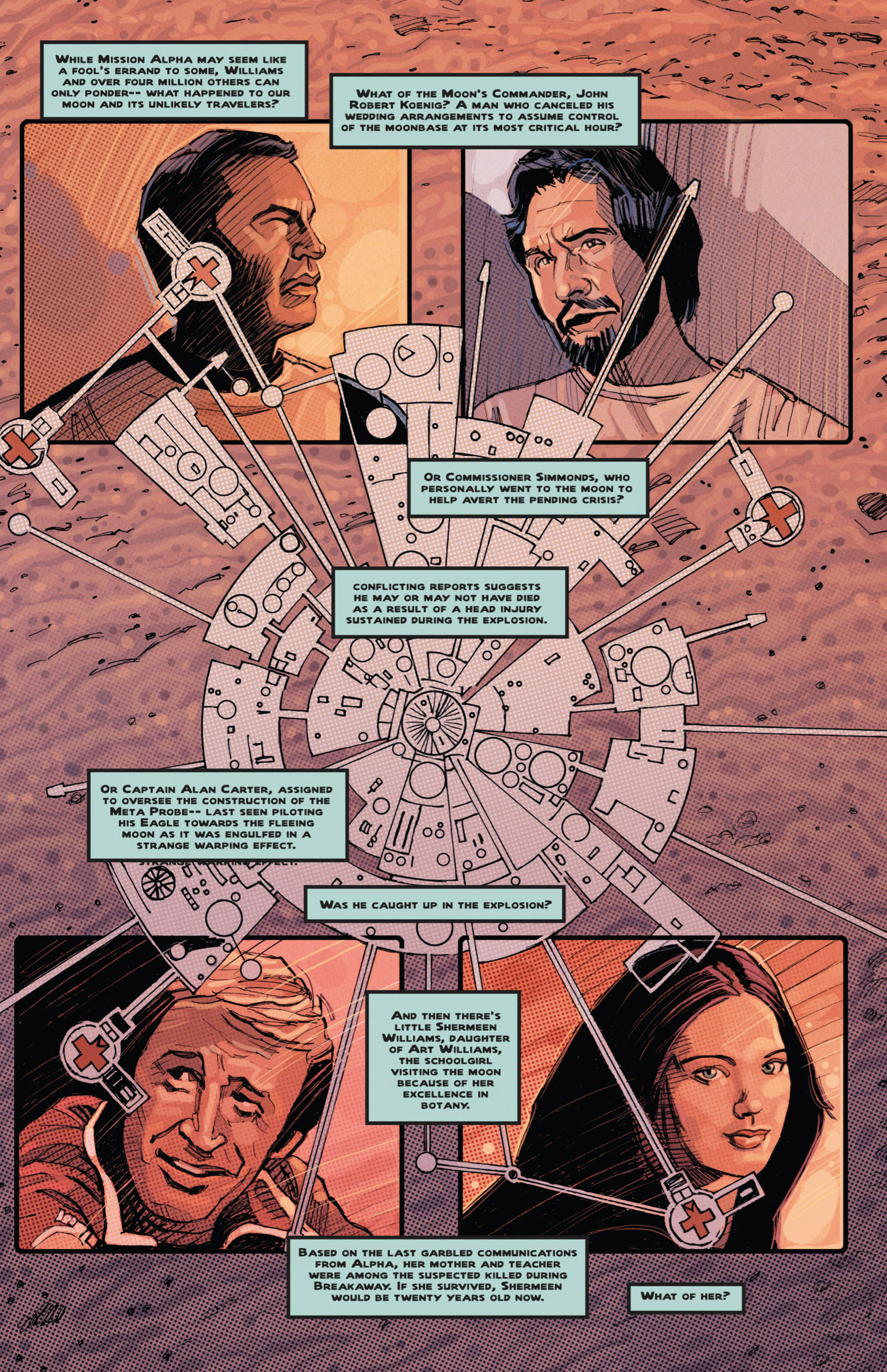 Read online Space: 1999: Aftershock comic -  Issue #3 - 28