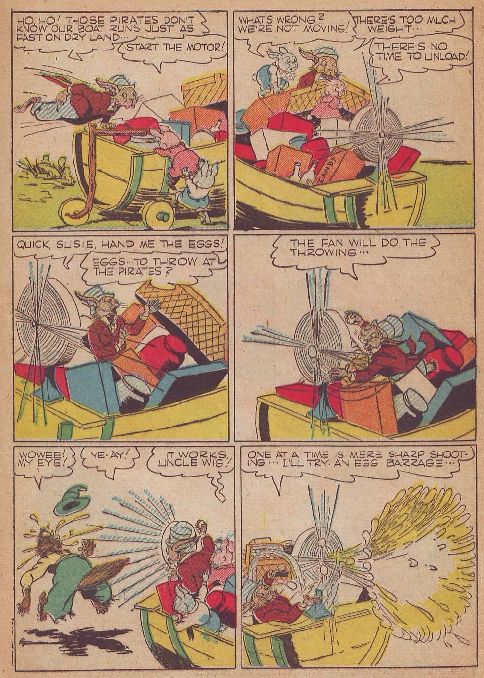Read online Animal Comics comic -  Issue #8 - 13