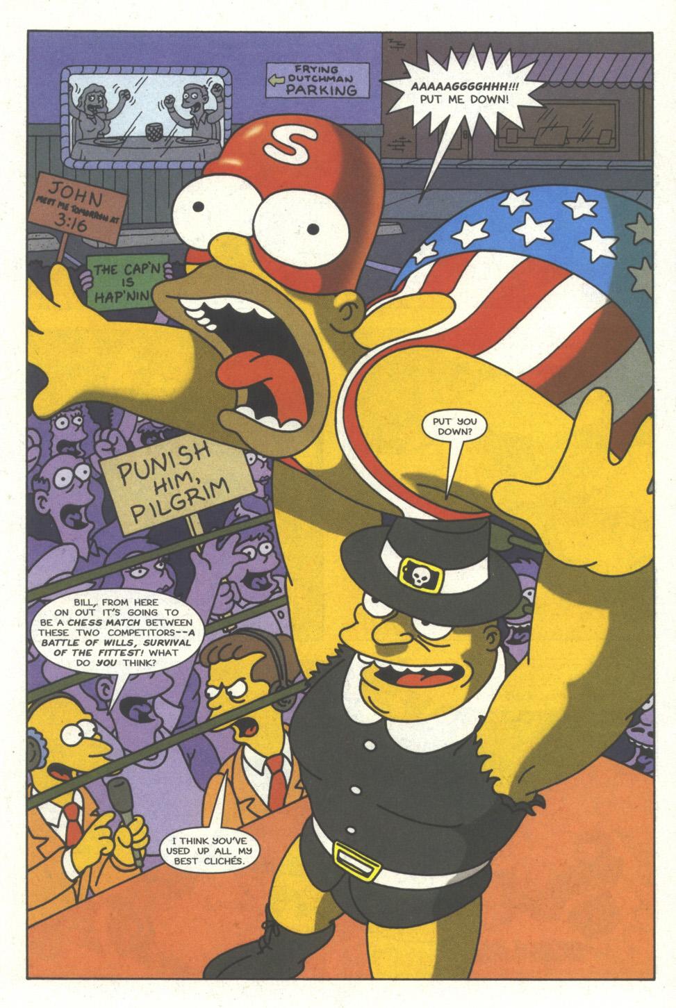 Read online Simpsons Comics comic -  Issue #29 - 12