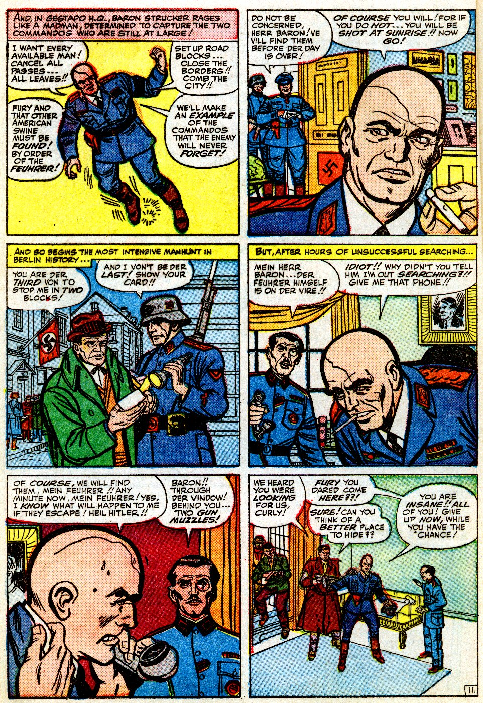 Read online Sgt. Fury comic -  Issue #9 - 16