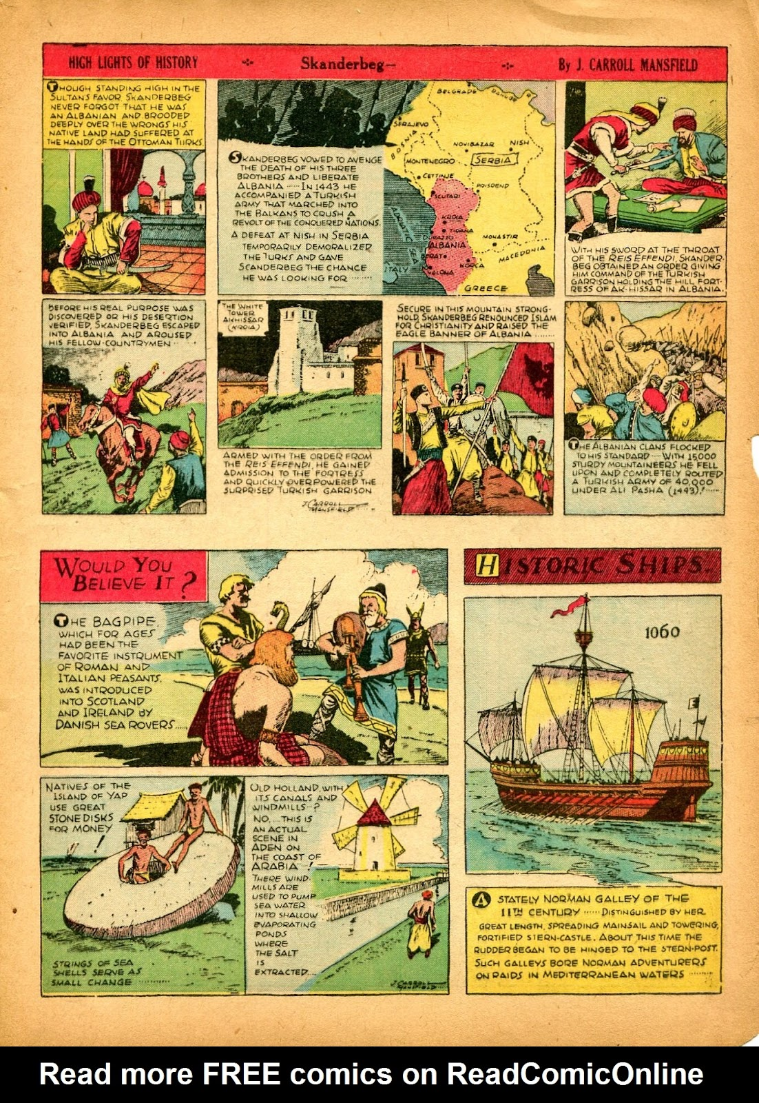 Read online Famous Funnies comic -  Issue #84 - 15